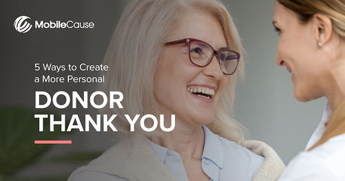 5 Ways to Create a More Personal Thank you