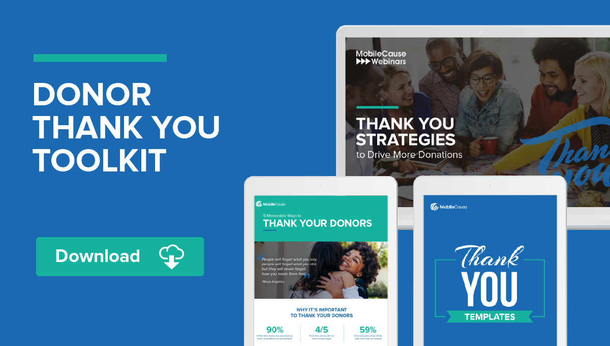 Thanking Donors 2018 Toolkit