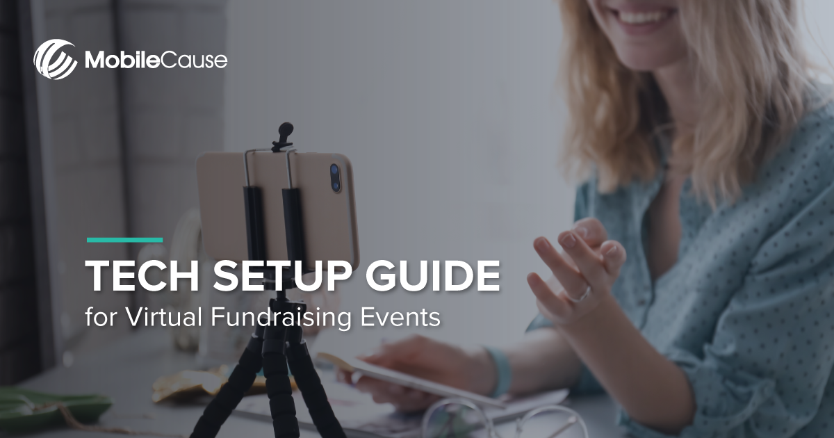 Tech Setup Guide for Virtual Fundraising Events | eBook 20